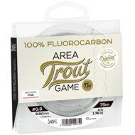 Леска моно. Lucky John Area Trout Game FLUOROCARBON Pink 075/025